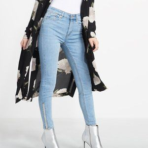 NWOT Dynamite Kate High Rise Skinny Jeans-Size 24!
